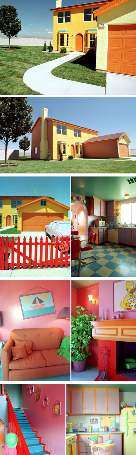A casa dos Simpsons na vida real