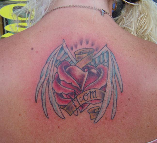 Wreckyourworld Angle Wing Tattoos