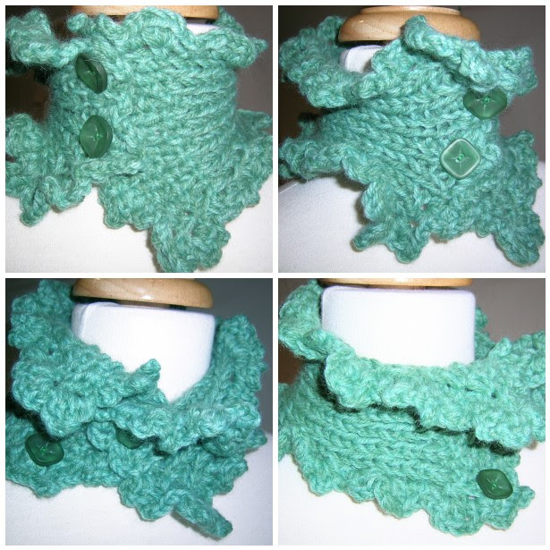 Angel Scarflette Teal