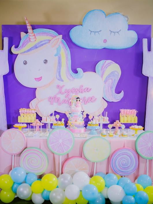 "Xyesha's ""Of Candies, a Princess and her Unicorn"" Themed Party – 7th Birthday 