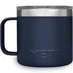 Yeti Rambler Mug, Navy, 14 oz Capacity