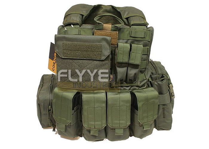 Flyye Force Recon Vest with Pouch Set Maritime Version Review