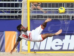futebol de areia Flamengo (Foto: Alexandre Loureiro / Inovafoto)
