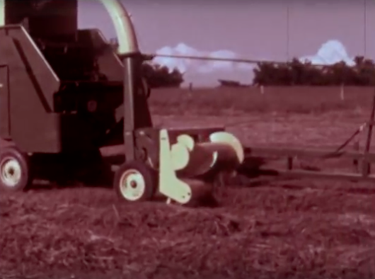 Video: The Original 1967 John Deere 34 Forage Harvester