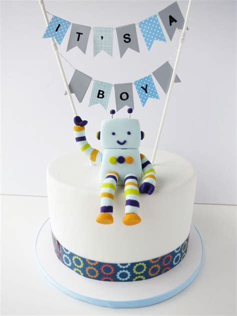 25  best ideas about Robot cake on Pinterest   Easy kids