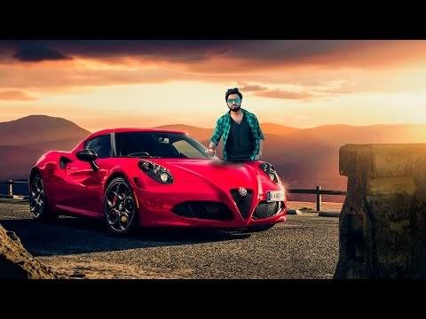 Photoshop Manipulation Tutorial Boy and  Car