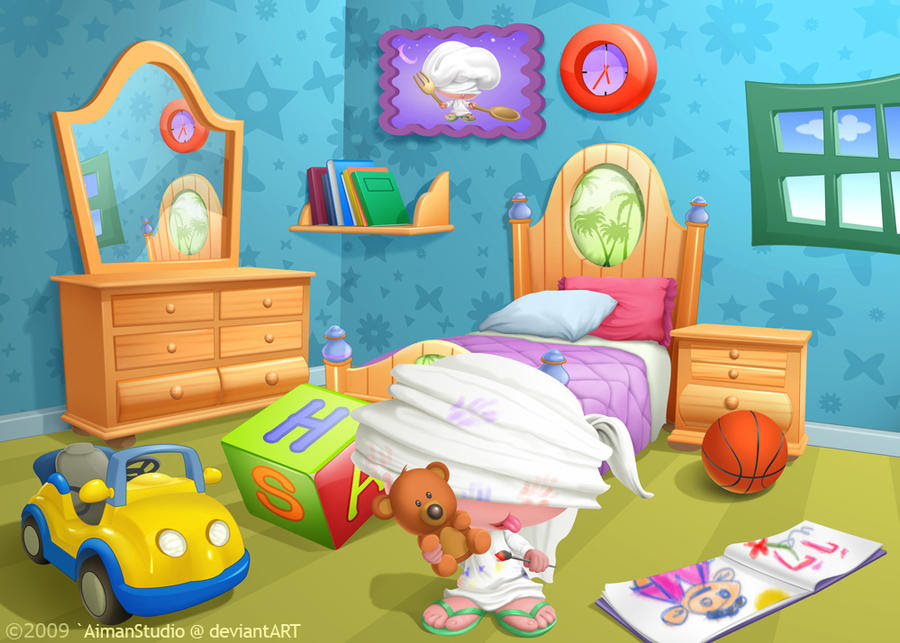 Children Room by AimanStudio on DeviantArt
