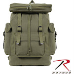 Rothco Canvas European Style Rucksack Olive Drab