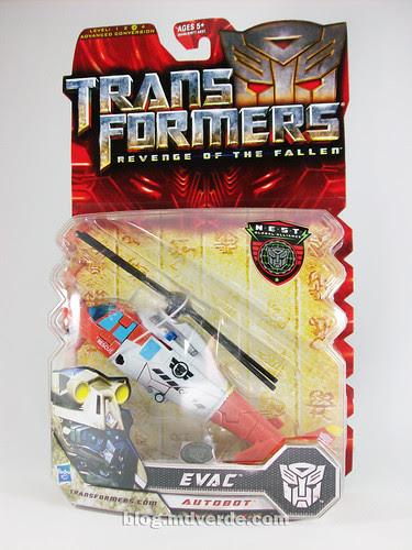 Transformers Evac RotF NEST Deluxe - caja