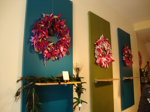 Display at Soutache ribbon
