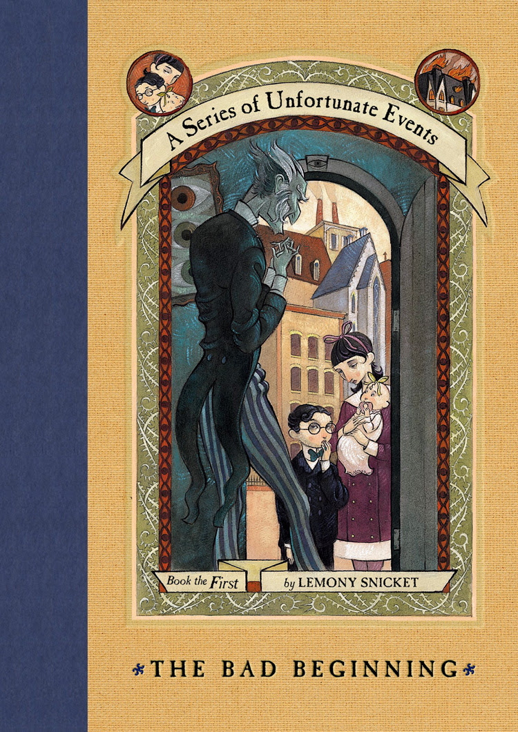 Image result for a series of unfortunate events book