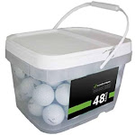 Titleist Player Mix Recycled Golf Ball, White - 48 pack