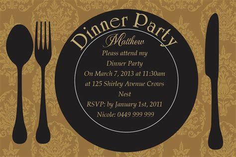 Anniversary dinner invitations : wedding anniversary