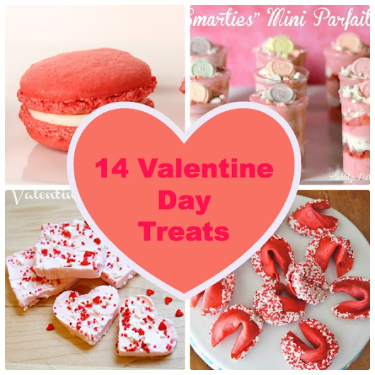 14 Valentine's Day Treats To Share - Just Short of Crazy