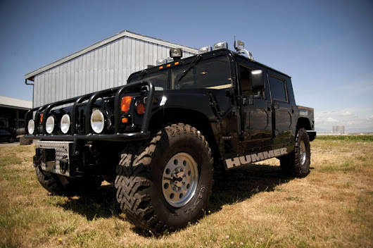 Tupac Shakur's Last Vehicle -1996 Hummer H1 - Could Be Yours