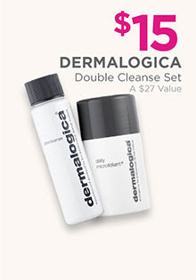 Dermalogica Double Cleanse Set is now $10, regular $15.