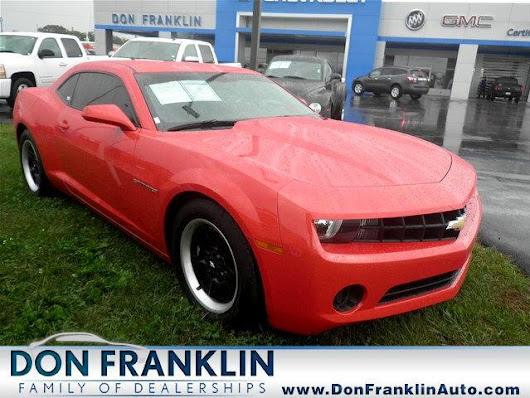 Used 2013 Chevrolet Camaro LS Coupe for Sale in Columbia KY 42728 Franklin Nissan