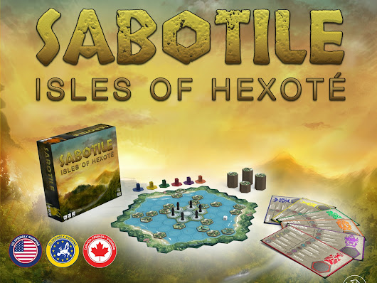 Sabotile: Isles of Hexoté - A Tile-Laying Board Game by Grizzly Forged Studios, LLC —  Kickstarter