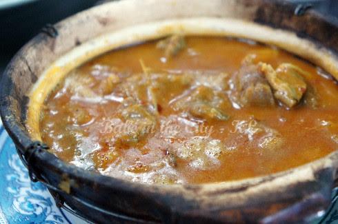 Claypot mutton