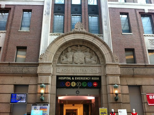 facade, Bellevue Hospital