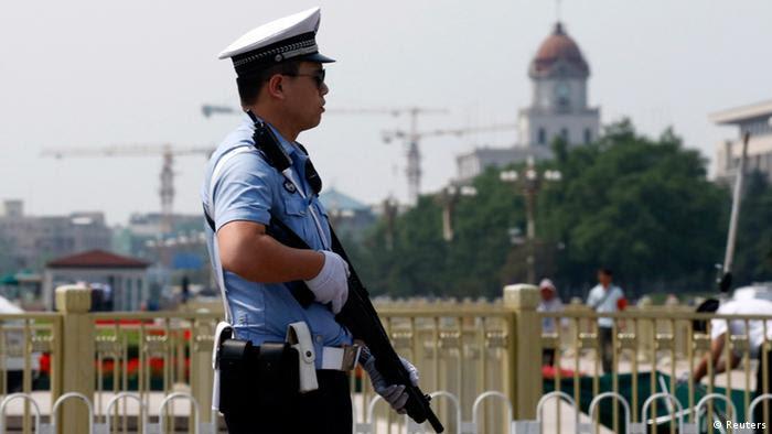 Peking Platz des himmlischen Friedens 04.06.2014
