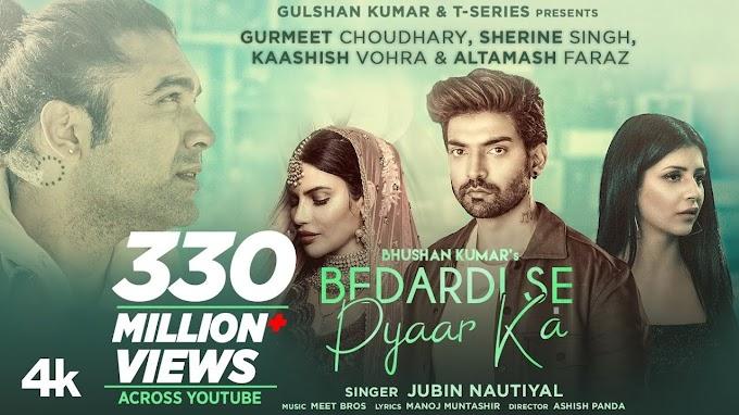 Bedardi Se Pyaar Ka Sahara Na Mila Lyrics In Hindi & English - Jubin Nautiyal | LYRICSADVANCE