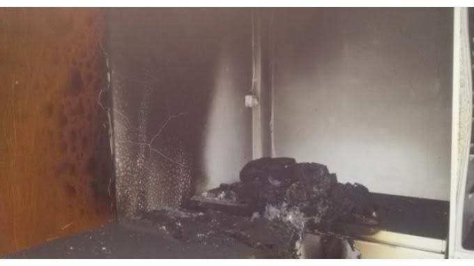 Έβαλαν φωτιά σε χώρο του Ιερού Ναού