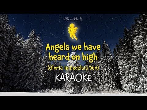 Angels We Have Heard On High Lyrics Karaoke