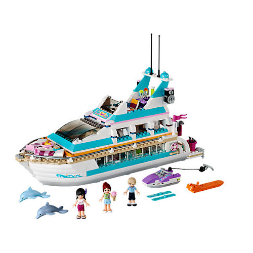 Lego Friends Dolphin Cruiser 41015 Google Express