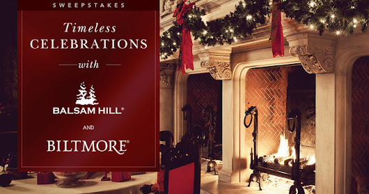 Timeless Celebrations with Balsam Hill and Biltmore
