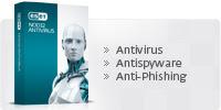 ESET NOD32 Antivirus. Antivirus y Antispyware.