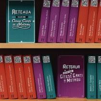 Biblioteca digital en 3 del metro de Bucarest