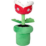 "Super Mario - All Star Collection Piranha Plant Stuffed Plush, 9"""