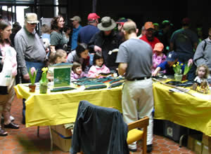 Endangered new jersey pequest open house and fishing flea for Fishing flea market nj