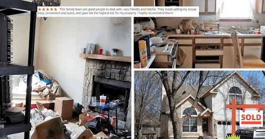Get Rid of that Unholy Mess of a House, Call Scott at kcmoHomeBuyer - kcmoHomeBuyer