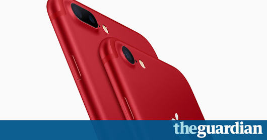 Apple updates iPad line and launches red iPhone 7 | Technology | The Guardian