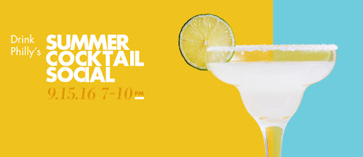 Join Drink Philly & Beam Suntory For The Summer Cocktail Social, September 15