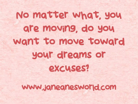 Take Action Now - Reach Out and Touch Your Dreams
