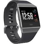 Fitbit Ionic Smartwatch Small/Large - Charcoal/Smoke Gray