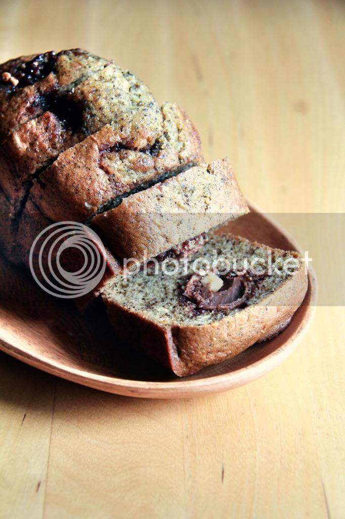 dessert / tea cake - earl grey ferrero rocher cake