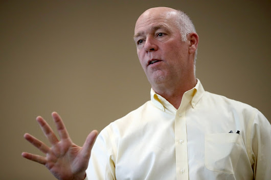 Montana congressional candidate Greg Gianforte allegedly 'body slams' reporter
