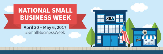 National Small Business Week Banner