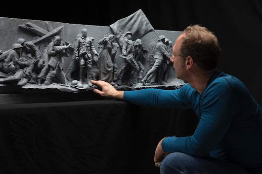 Work Advancing On World War I Memorial Designed By UA Graduate