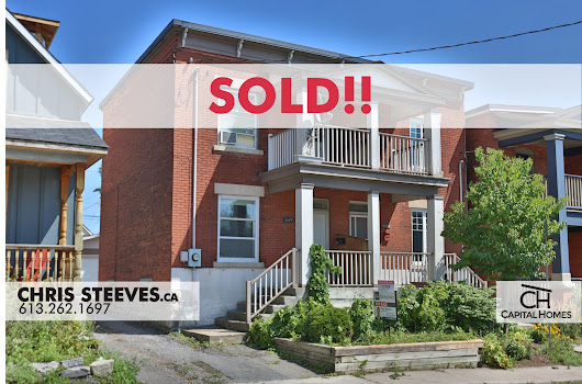 **SOLD** - 249 CAMBRIDGE ST - SEMI-DETACHED IN CENTRETOWN - Chris Steeves