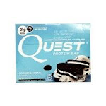 Quest Protein Bar, Cookies & Cream Flavor - 4 pack, 2.1 oz bars