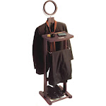 Winsome Valet Stand with Mirror