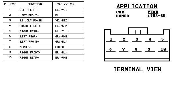 2005 Honda Accord Radio Wiring Diagram Wiring Diagrams Register Register Miglioribanche It