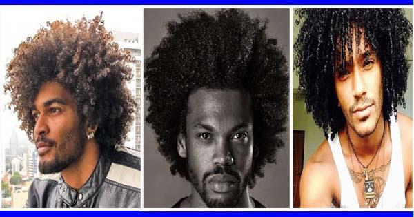 Coupe Cheveux Bouclés Pour Hommes Noirs Et Métis