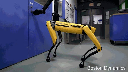 Boston Dynamics' Unsettling Robodog Can Now Escape Through (Unlocked) Doors