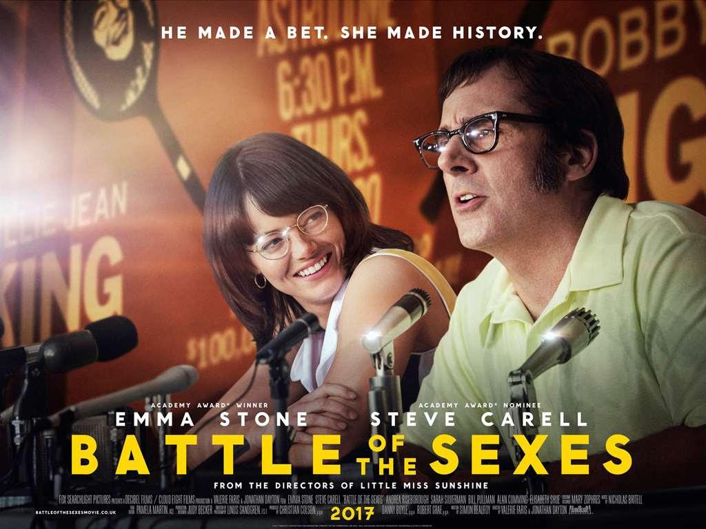 Η Μάχη των Φύλων (Battle of the sexes) Quad Poster
